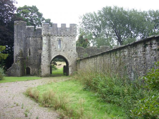 South gatehouse, Ewenny Priory
