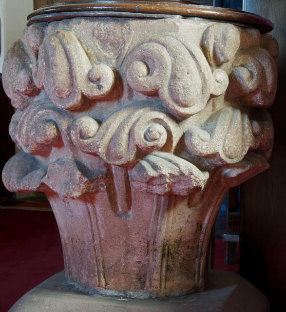 Capital from Strata Marcella, Church of All Saints, Buttington