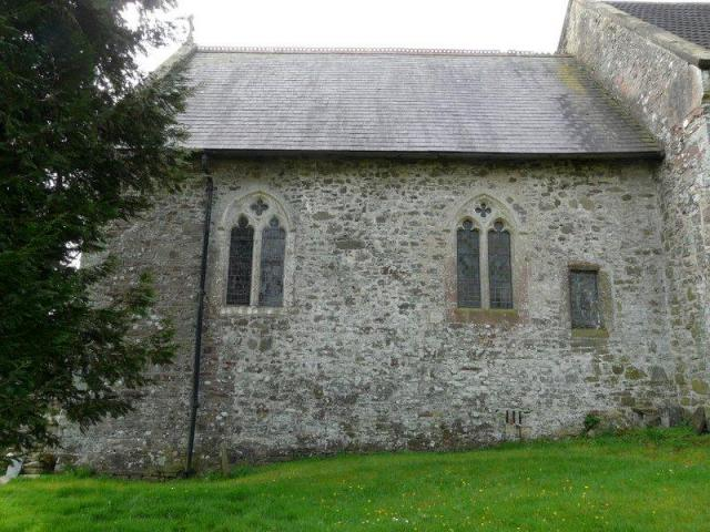 The church at St Clears