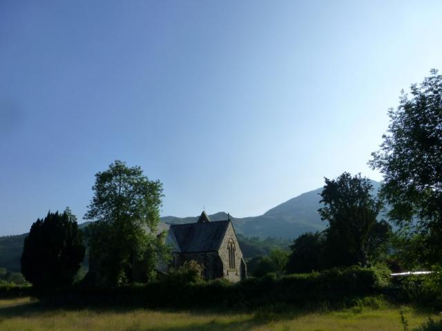 The former priory church at Beddgelert