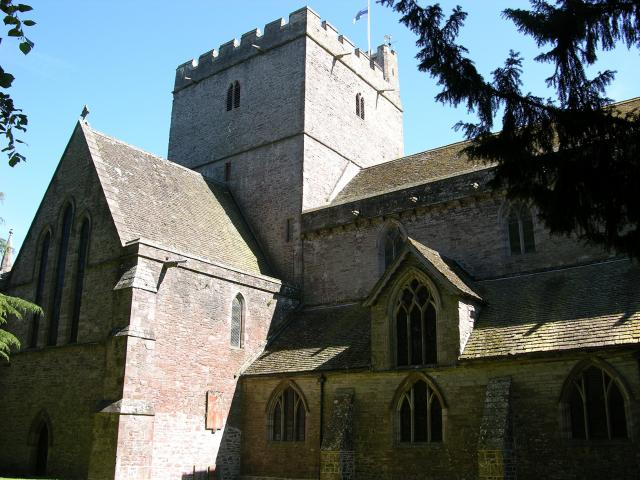 Priory Church of St John the Evangelist, Brecon