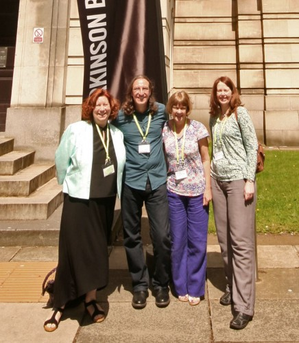 Jane Cartwright, Martin Crampin, Janet Burton and Jenny Day at Leeds.